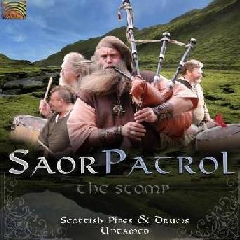 Saor Patrol - The Stomp - Scottish Pipes And Drums Untamed (CD)