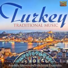 Anadolu University Folkdance Ensemble - Turkey - Traditional Music (CD)