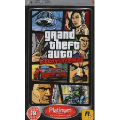 Grand Theft Auto: Liberty City Stories (Platinum) (PSP)