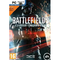 Battlefield 3: Close Quarters DLC2 Code only. **The original Battlefield 3 game is needed *Codes will only work with Multiplayer mode