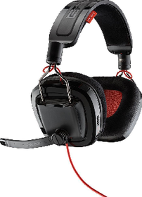 Plantronics GameCom 788 Dolby Surround Sound Stereo Gaming Headset - Black