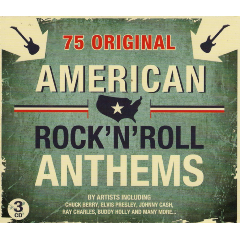 American Rock 'n Roll Anthems - Various Artists (CD)
