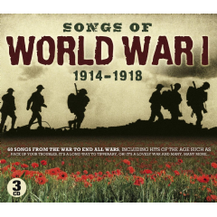 Songs Of World War 1 - Various Artists (CD)