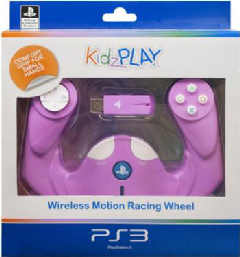 KidzPLAY Wireless Motion Wheel - Pink (PS3)