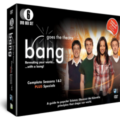 Bang Goes The Theory Series 1 & 2 (Import DVD)