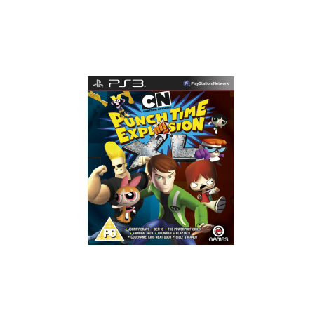 Cartoon Network Punch Time Explosion Xl Xbox 360 Buy Online In
