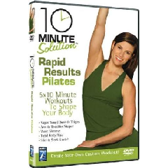 10 Minute Solution: Rapid Results Pilates - (Import DVD)
