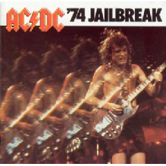 Ac / Dc - 74 Jailbreak - Remastered (CD)