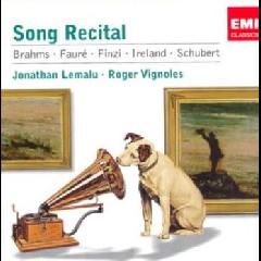 Lemalu Jonathan - Song Recital (CD)