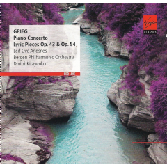 Red Line:Grieg Piano Concertos/Lyric - (Import CD)