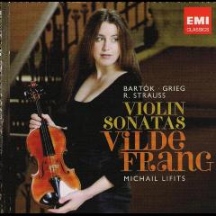 Frang Vilde - Violin Sonatas (CD)