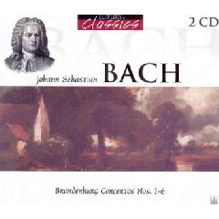 Brandenburg Concertos Nos.1-6 - Various Artists (CD)