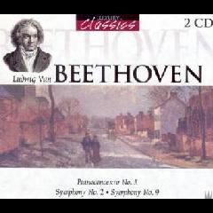 Piano Concerto No.5 / Symphony No.2 / Symphony No.9 - Various Artists (CD)