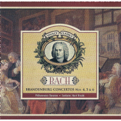 Brandenburg Concerto No.4 - Various Artists (CD)