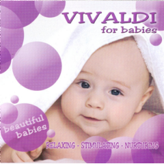 Vivaldi For Babies - Various Artists (CD)