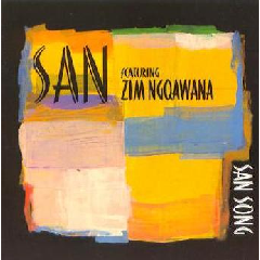 San - Feat. Zim Ngqawana - San Song (CD)
