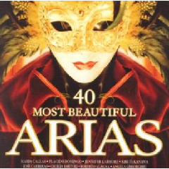 40 Most Beautiful Arias - Various Artists (CD)