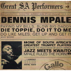 Dennis Mpale - Great South African Performers (CD)