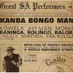 Kanda Bongo Man - Great South African Performers (CD)