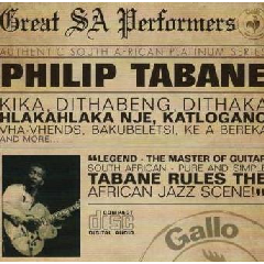 Philip Tabane - Great South African Performers (CD)