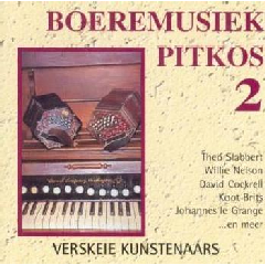 Boeremusiek Pitkos - Vol.2 - Various Artists (CD)