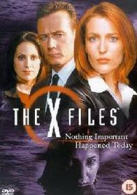 X-Files, The: Nothing Important Happened Today - (DVD)