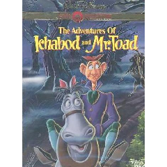Adventures of Ichabod and Mr. Toad (DVD)