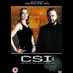 CSI Vegas: Crime Scene Investigation Complete Season 5 (DVD)