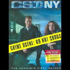 CSI New York Complete Season 1 (DVD)