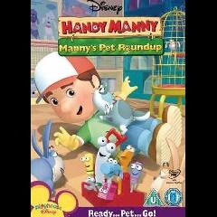 Handy Manny - Manny's Pet Round Up - (DVD)