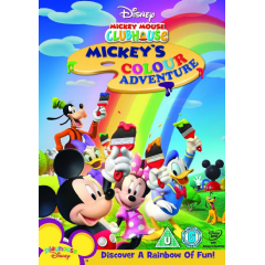 Mickey Mouse Clubhouse Mickey's Color Adventures (DVD)