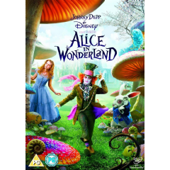 Alice in Wonderland (2010) (DVD)