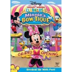 Mickey Mouse Clubhouse Minnie's Bow-tique (DVD)