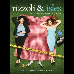 Rizzoli & Isles Season 4 (DVD)