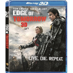 Edge Of Tomorrow (3D & 2D Blu-ray)