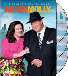 Mike & Molly Season 4 (DVD)