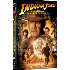 Indiana Jones and the Kingdom of the Crystal Skull (2008)(DVD)