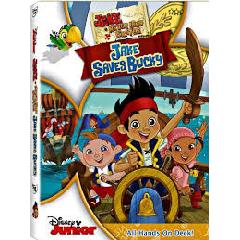 Jake & The Neverland Pirates:Jake Saves Bucky (DVD)