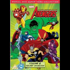 Marvel The Avengers: Earth's Mightiest Heros Vol 6 (DVD)