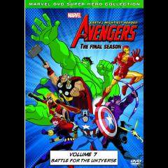 Marvel The Avengers: Earth's Mightiest Heros Vol 7 (DVD)