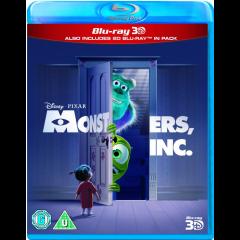 Monsters Inc. (3D & 2D Blu-ray)
