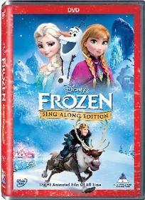 Disney's Frozen Sing Along (DVD)