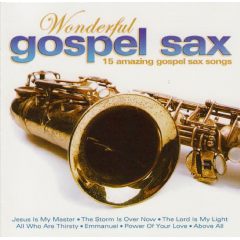 Wonderful Gospel Sax - Various Artists (CD)