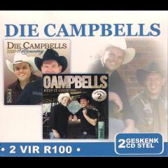 DIE CAMPBELLS - Keep It Country - Vols.1 & 2 (CD)