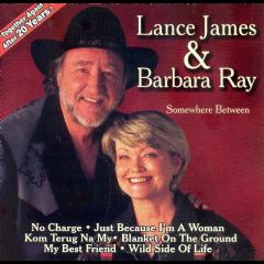 Lance James - Somewhere Between (CD)