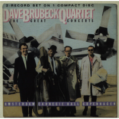 Brubeck, Dave - The Great Concerts (CD)