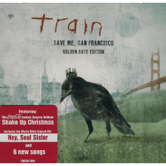 Train - Save Me, San Francisco - Golden Gate Edition (CD)