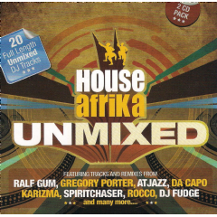 House Africa - Unmixed (CD)