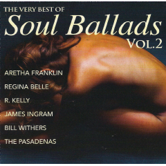 Very Best Of Soul Ballads - Vol.2 - Various Artists (CD)