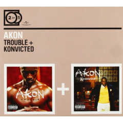 Akon - Trouble / Konvicted (CD)